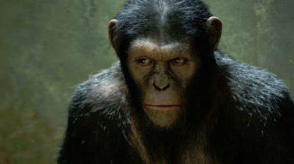 Cesar interpretado por Andy Serkis