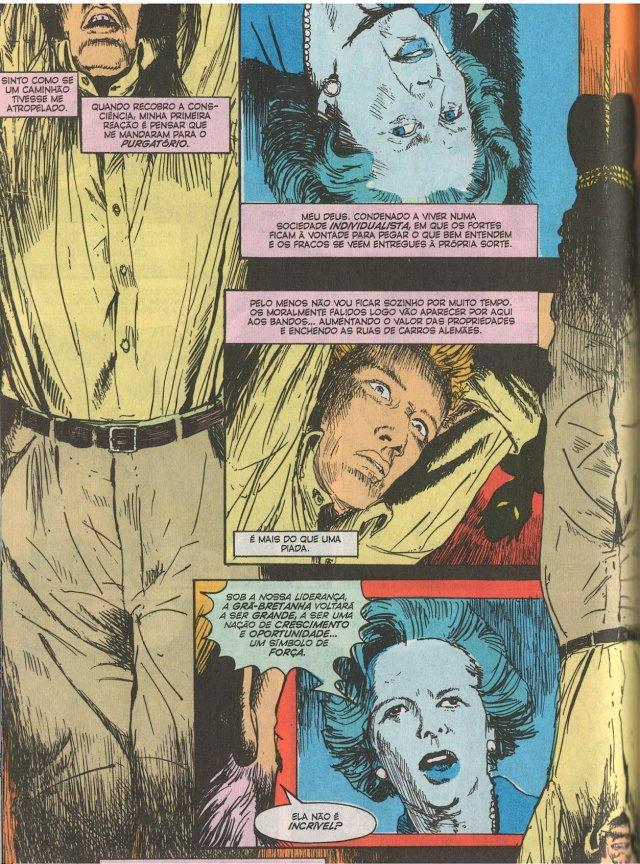 Hellblazer Origens - Margaret Thatcher